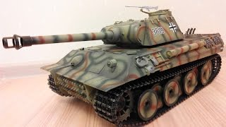 Танк на пульте управления Taigen Panther(Танк на пульте управления Taigen Panther Мой сайт: http://rcbuyer.ru Купить можно тут: http://hobbyostrov.ru/tanks/tanks/taigen-hand-painted-rc-tanks-pro..., 2014-08-05T08:05:42.000Z)