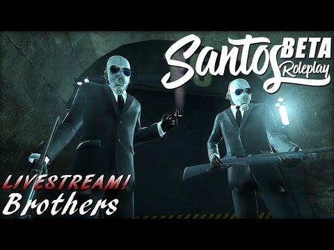 GMod: SantosRP - Brothers - SPD Ride Along! - LIVESTREAM VoD #30
