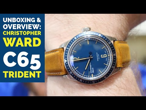 Christopher Ward C65 Trident  Watch Unboxing and Overview