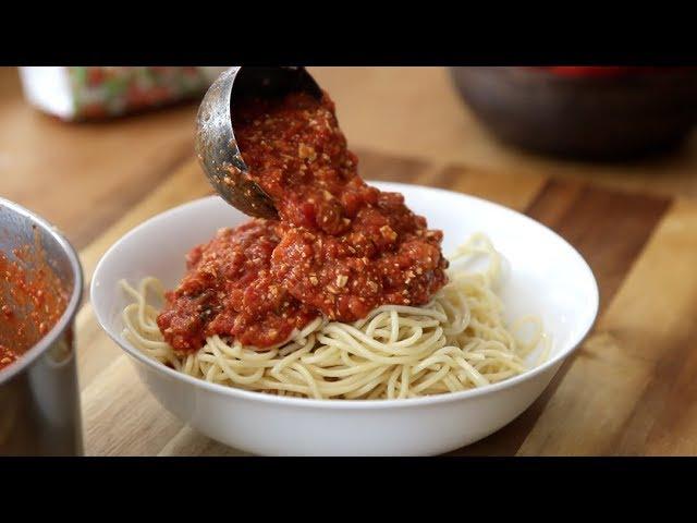 Sauce à Spaghetti Végé I La Cuisine de Jean-Philippe