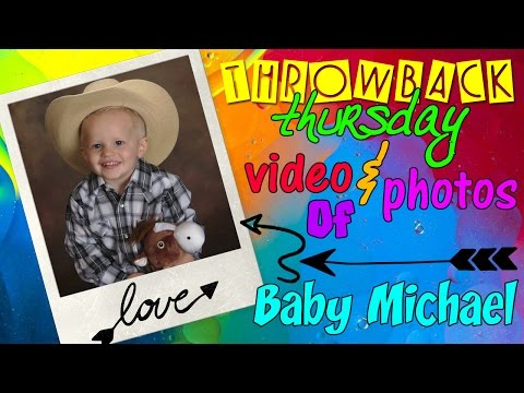 Cute 2 Year Old Michael Throwback Compilation