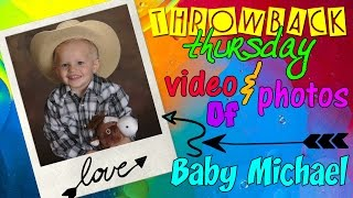 Cute 2 Year Old Michael Throwback Compilation thumbnail