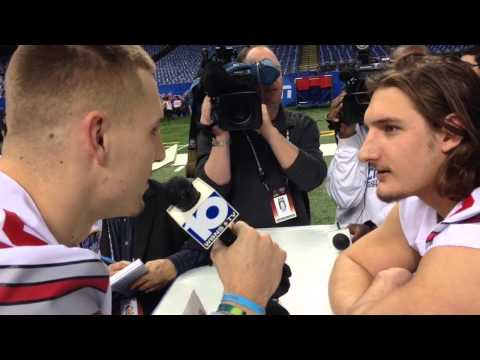 Jeff Heuerman and Joey Bosa