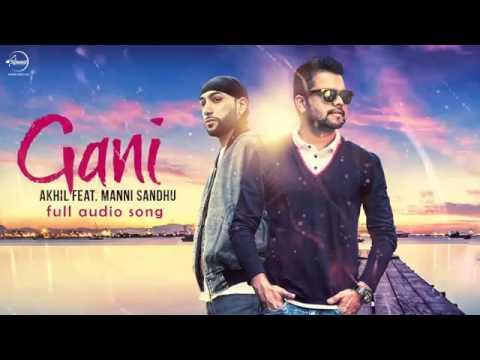 Gani  instrumental   karaoke version   Akhil Feat Manni Sandhu   Latest Punjabi Song 2016