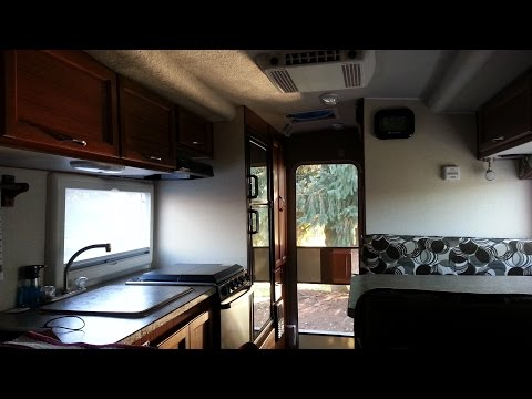 Tour of the RV I Live in - Living in a Truck Camper