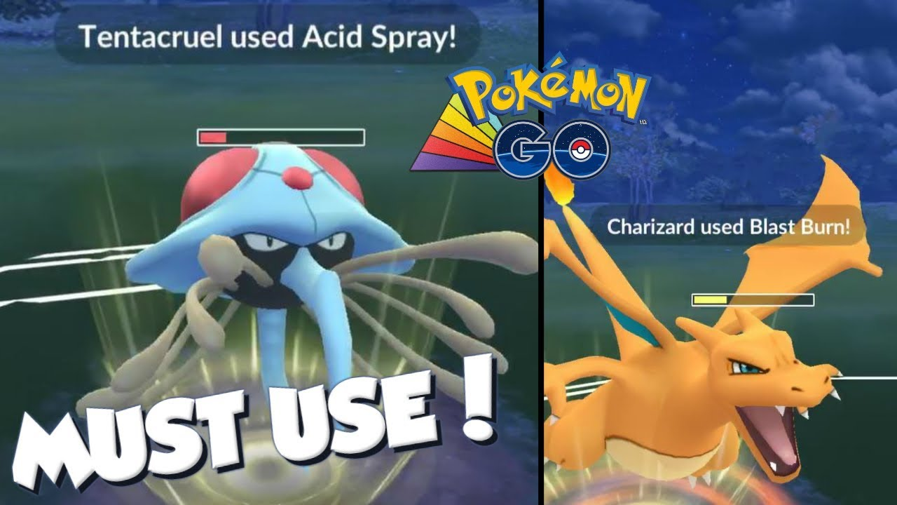 TENTACRUEL IS A MUST USE! Pokemon GO PvP Rainbow Cup Great