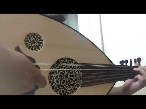 Egyptian Walnut/spruce Top Oud For Sale ( SOLD )
