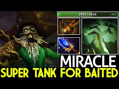 Miracle- [Undying] Super Tank for Baited WTF Gameplay 7.21 Dota 2