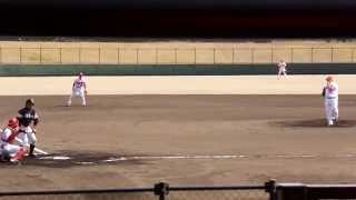 2015.03.14 広島東洋カープ ザガースキー投手 全球ノーカット
