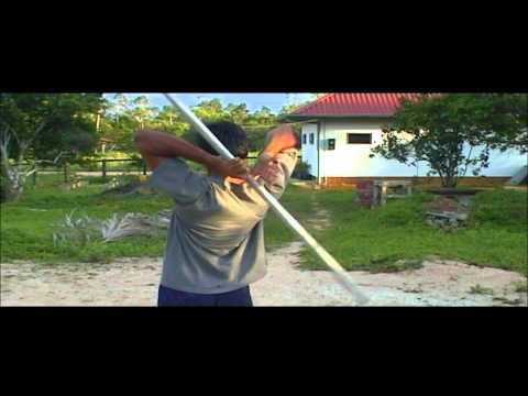 Stick Fighting Tutorial In Paramaribo, Suriname
