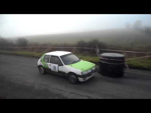 Mike Murphy/ Miriam Lally Galway International Rally 2015  Stage12
