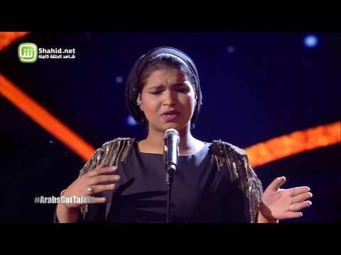 Arabs Got Talent- عرض النصف نهائيات – إيمان الشميطي