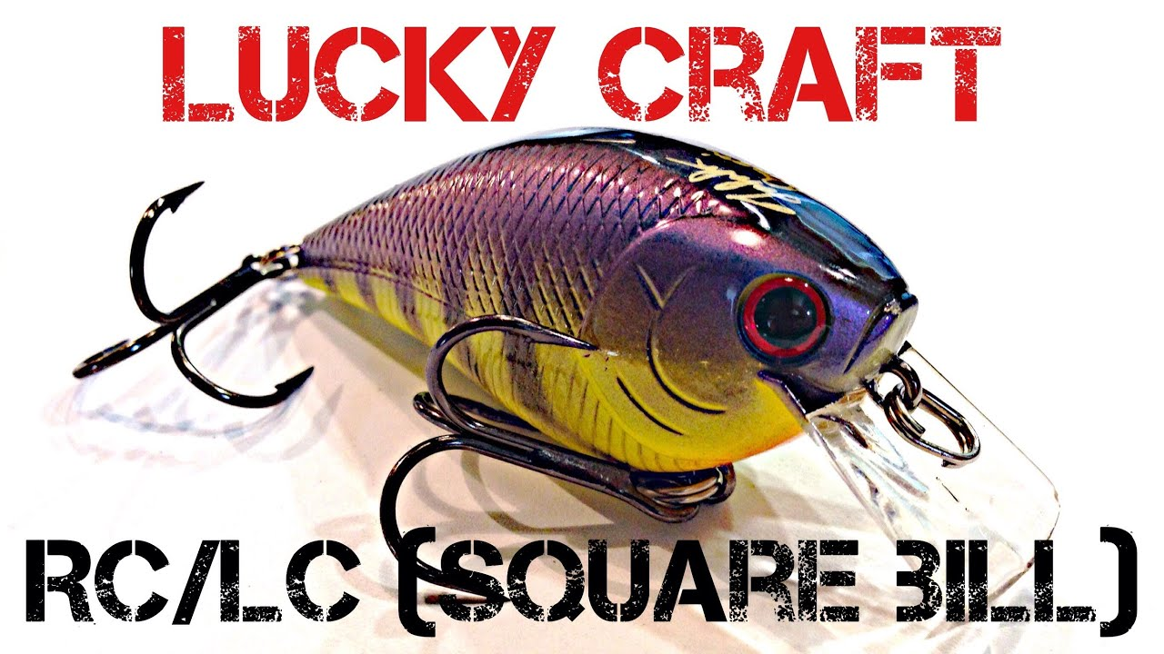 Lucky craft rc 2 5 - Lure Review Lucky Craft Rick Clunn Rc Rattlin Crankbait