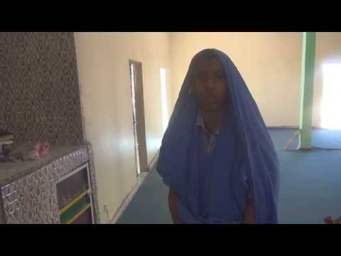Shaykh Salek bin Siddina Student Recites a Poem at Dar Us Salaam School in Mauritania