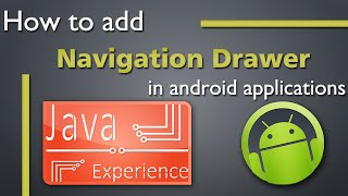 How to add Navigation Drawer in android applications