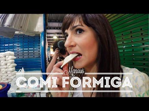 COMI FORMIGA! + TUCUMÃ, PACOVÃ, JAMBU, TUCUPI | MANAUS | DANI NOCE VIAGEM 127