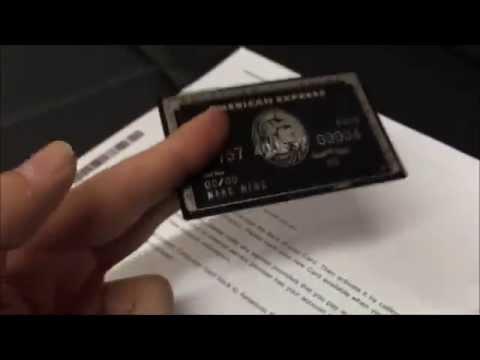 American Express Black Card Centurion – Amex Black Card Invitation