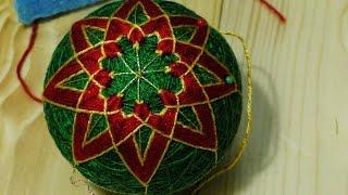 Вышивка Кику Хризантема