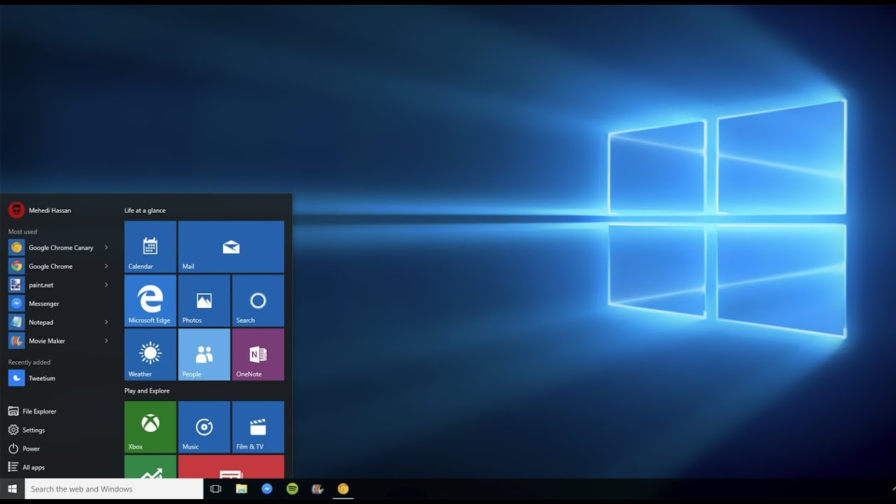 how to start windows 10 without a password