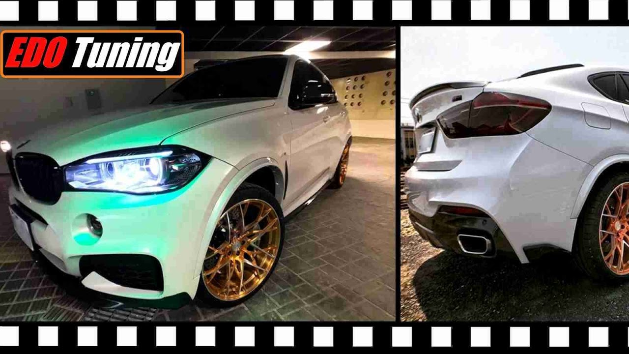 Bmw X6 F16 Edo Tuning Body Kit Youtube
