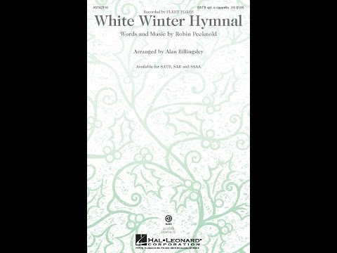 White Winter Hymnal - Arranged by Alan Billingsley