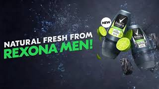 Discover natural freshness with Rexona Men Natural Fresh