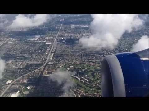 DELTA A-320 Engine  Over Florida - Nice View !!