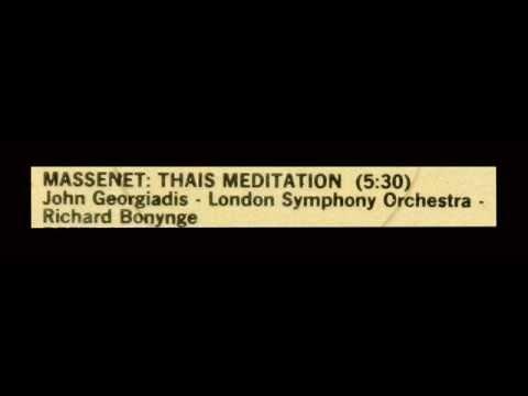 Massenet / John Georgiadis, 1960 - Méditation de Thaïs
