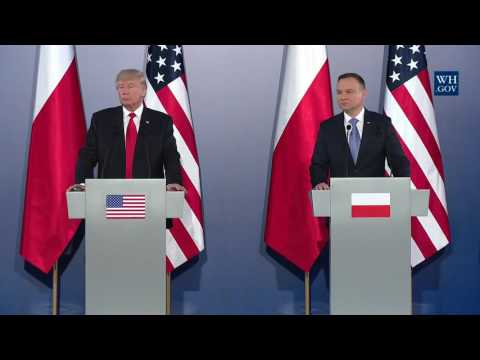President Trump Holds a Joint Press Conference with President Andrzej Duda