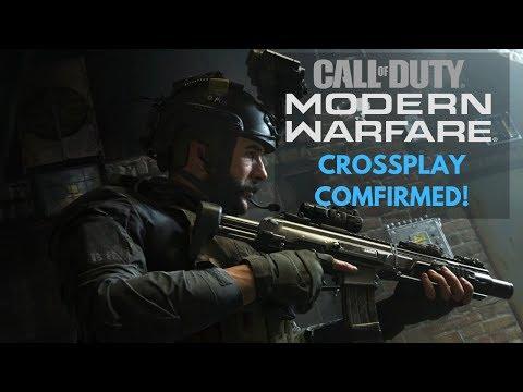 Call of Duty Modern Warfare PS4 Crossplay Confirmed