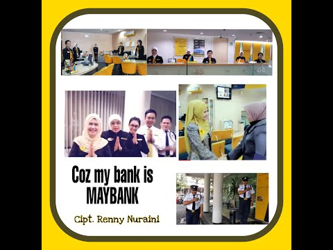 Coz my bank is MAYBANK