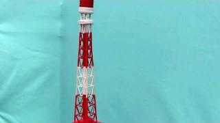 Model of Tokyo Tower at Ichikawa Festival October 2011 1862