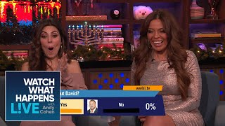Dolores Catania's New Boyfriend David: Is Frank Right about Him? | WWHL