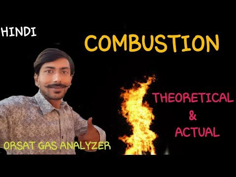 [HINDI] COMBUSTION ~ COMPLETE & INCOMPLETE ~ EXHAUST GAS ANALYSIS ~ ORSAT GAS ANALYSER