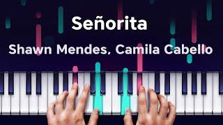 Señorita - Shawn Mendes, Camila Cabello on iPhone Piano (Yokee Piano) screenshot 5