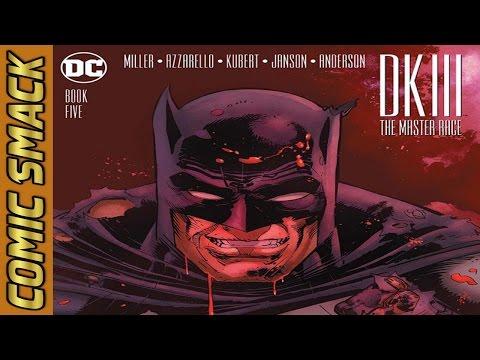 The Dark Knight Returns 3 Master Race #5 Comic Smack