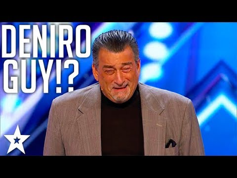 DeNiro Guy | Celebrity Impersonator | America's Got Talent 2017