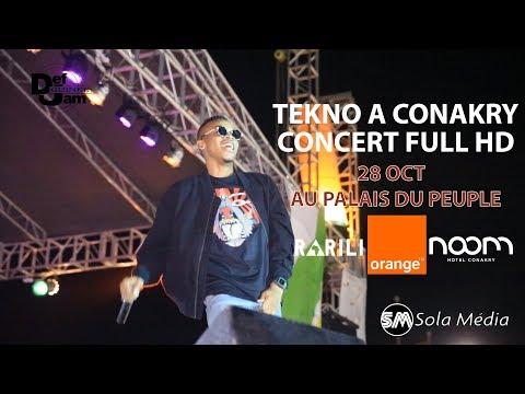 Tekno à Conakry - Concert Full HD