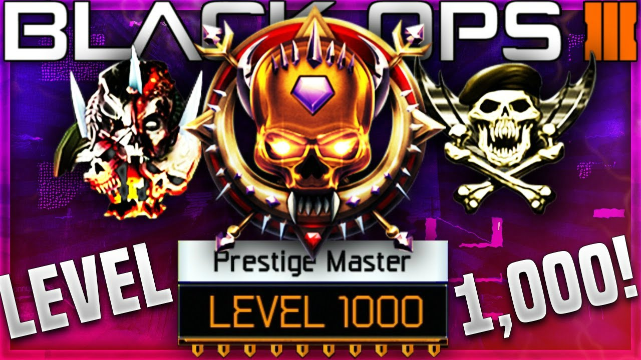 BO3 MASTER PRESTIGE GLITCH!!! - YouTube
