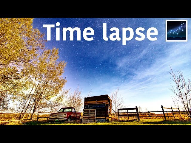 Time lapse 🌌: #TenSecondTuesday