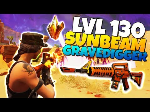 LVL 130 GRAVEDIGGER Assault Rifle IT IS GOOD! | Fortnite Save The World