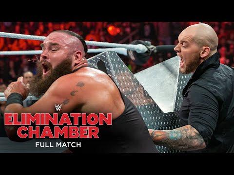 FULL MATCH - Braun Strowman Vs. Baron Corbin – No DQ Match: WWE Elimination Chamber 2019
