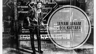 JANAM JANAM × BOL KAFFARA LIVE PERFORMANCE #arijit#liveperformance#janamjanam#bolkaffara#trending