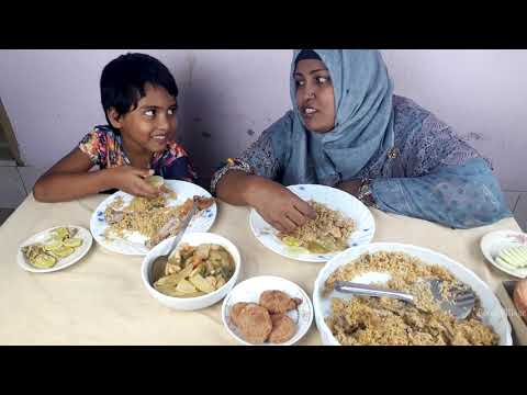 Biryani eating show mom and daughter from YouTube · Duration:  14 minutes 1 seconds
