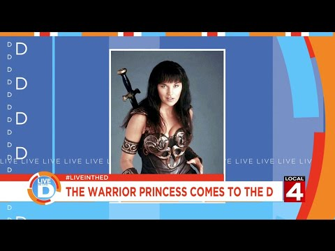 Live in the D: The Warrior Princess comes to the D