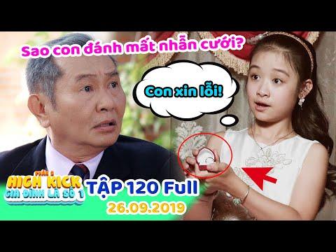 Gia đình là số 1 Phần 2 | Tập 120 Full: Lam Chi đánh mất nhẫn cưới, đám cưới Tú Tài bị HỦY