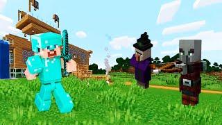 Майнкрафт видео обзор - Секретное убежище и Замок под водой! - Игры для мальчиков с Майнкрафт Нубом