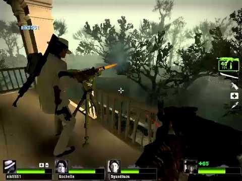 Turret defence, Left 4 Dead 2 Swamp Fever Part 4 |