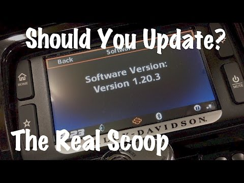 Harley Boom Box Software Update 1.20.3-Infotainment System