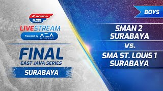Surabaya   Final Boys Honda DBL East Java Series 2019
